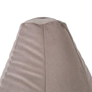 Кресло-мешок-груша из Велюра бежевый XL - фото 5185