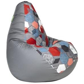 Кресло-мешок-груша Баблс серый L - фото 5193