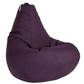 Кресло-мешок-груша из Жаккарда фиолетовый XXL - фото 5266