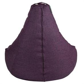 Кресло-мешок-груша из Жаккарда фиолетовый XXL - фото 5267