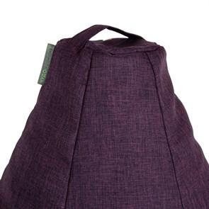Кресло-мешок-груша из Жаккарда фиолетовый XXL - фото 5268