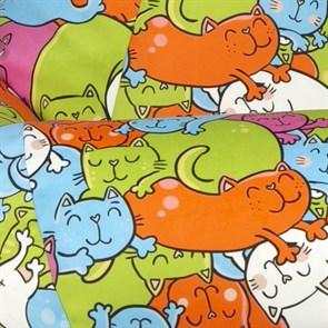 Кресло-мешок Кошки розовый XL - фото 5280