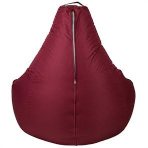 Кресло-мешок-груша из Нейлона бордовый XXL - фото 5398
