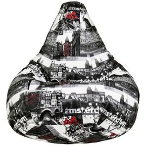 Кресло-мешок из велюра Амстердам XXL