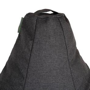 Кресло-мешок-груша из Жаккарда графитовый XXL - фото 5424