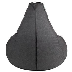Кресло-мешок-груша из Жаккарда графитовый XXL - фото 5425