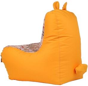 Детское кресло-ушастик Мишки желтые XL - фото 5444