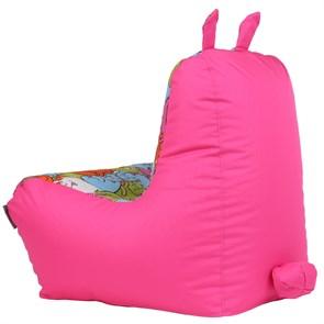Кресло детское-ушастик Кошки розовый XL - фото 5447