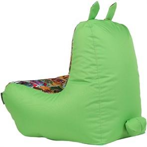 Кресло детское-ушастик Монстры салатовый XL - фото 5454