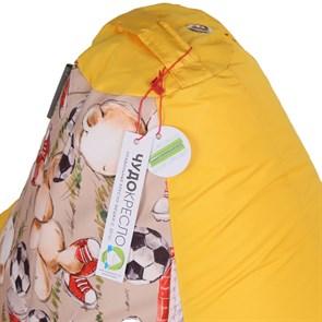 Кресло-мешок Мишки желтый L - фото 5482