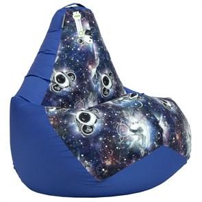 Кресло-мешок-груша Космопузики синий XL - фото 5510