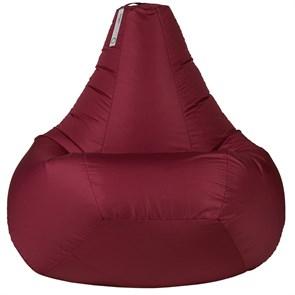 Кресло-мешок-груша из Нейлона бордовый XXL
