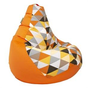 Кресло-мешок-груша Солнце Оранжевый XL - фото 5551