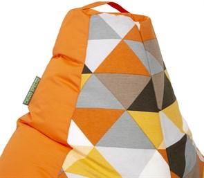 Кресло-мешок-груша Солнце Оранжевый XL - фото 5552