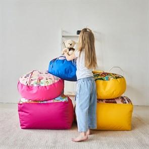 Детское кресло-ушастик Мишки желтые XL - фото 5584
