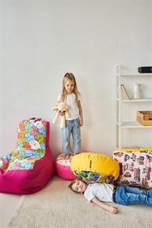 Кресло детское-ушастик Монстры салатовый XL - фото 5591