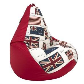 Кресло-мешок-груша Флаги красный XL - фото 5624