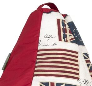 Кресло-мешок-груша Флаги красный XL - фото 5625