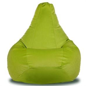 Кресло-мешок-груша из Велюра салатовый XXL