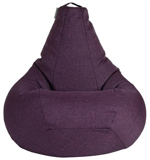 Кресло-мешок-груша из Жаккарда фиолетовый XXL - фото 5677