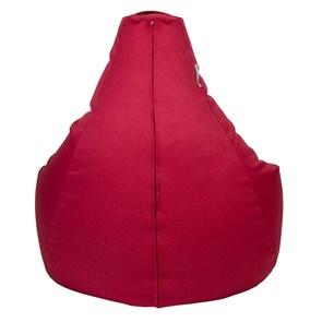 Кресло-мешок-груша Жаккард Красный XXL - фото 5694