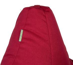 Кресло-мешок-груша Жаккард Красный XXL - фото 5696