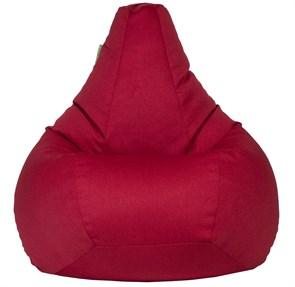 Кресло-мешок-груша Жаккард Красный XXL - фото 5697