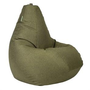 Кресло-мешок-груша Жаккард зеленый XXL - фото 5699