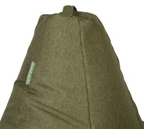 Кресло-мешок-груша Жаккард зеленый XXL - фото 5700