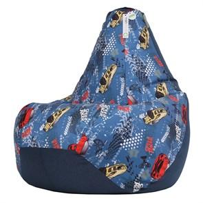 Кресло-мешок-груша Тачки микс XXL - фото 5703