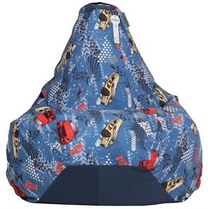 Кресло-мешок-груша Тачки микс XXL - фото 5705
