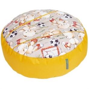 Пуфик детский Мишки желтый 55*25