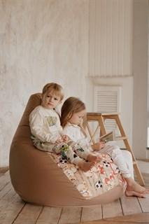 Кресло-мешок-груша Мишки бежевый XXL - фото 5838
