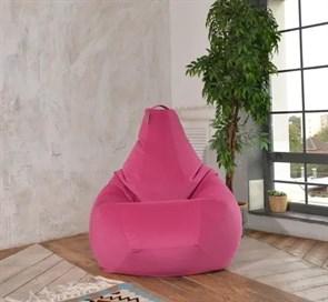 Кресло-мешок-груша из Велюра розовый XXL
