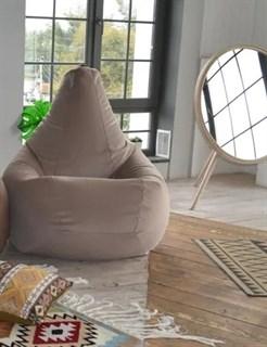 Кресло-мешок-груша из Велюра бежевый XXL - фото 5851