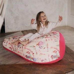 Кресло-мешок-груша Принцесски розовый XL - фото 5873